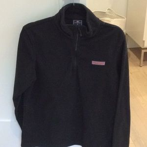 Vineyard vines fleece pull over